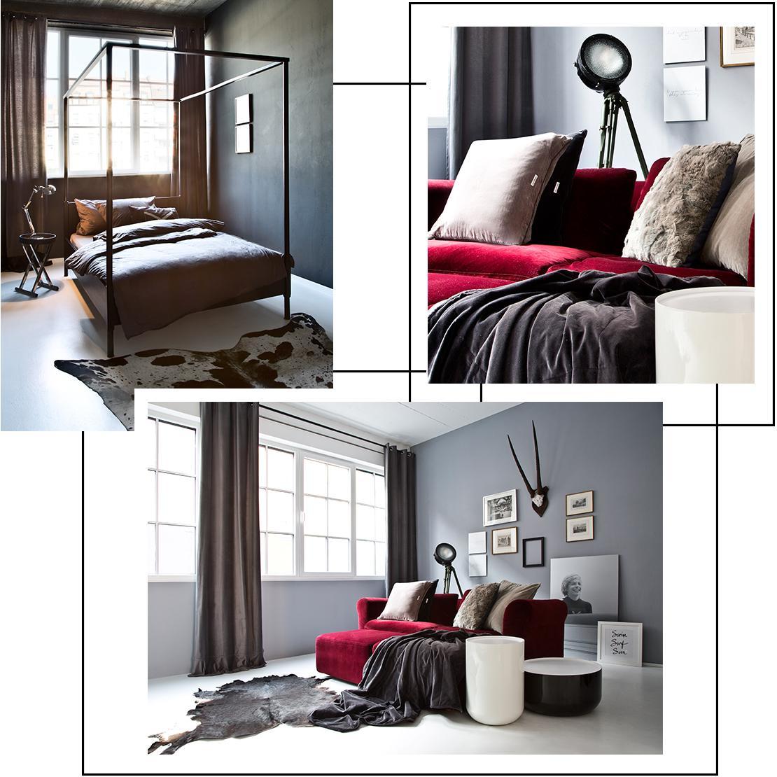 industriële-loft-slaapkamer