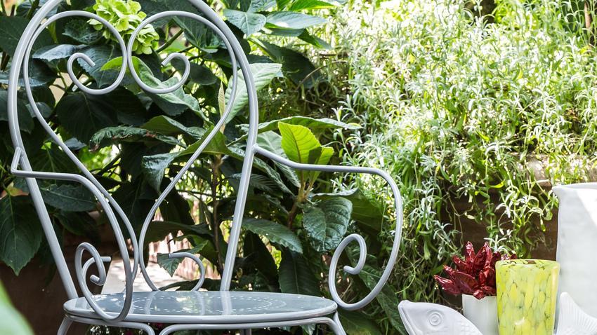Hliníková zahradní židle