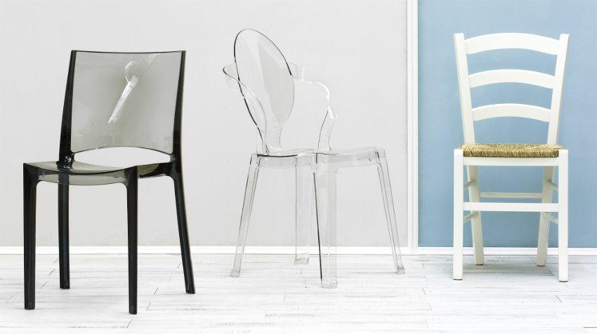 Konzolové židle s područkami
