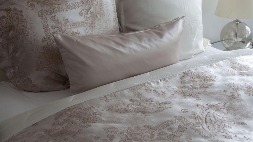Parure de lit en soie