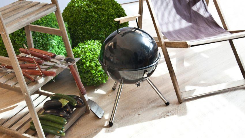 Stenen barbecue