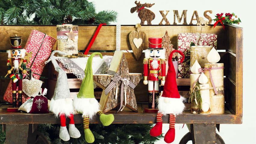 Papieren kerstklokken
