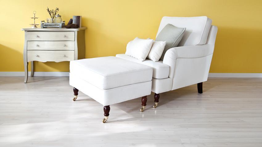 Biele kreslo