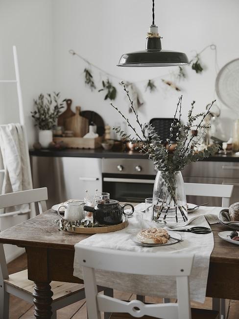 Kleines Esszimmer einrichten in der Küche