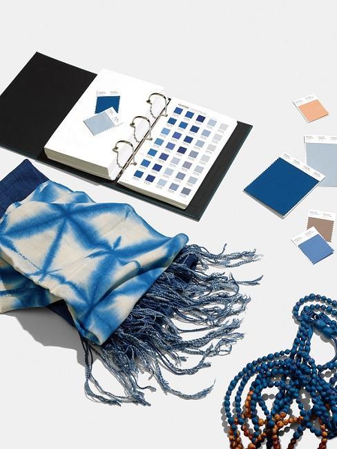 Classic Blue Pantone Trendfarbe Textil