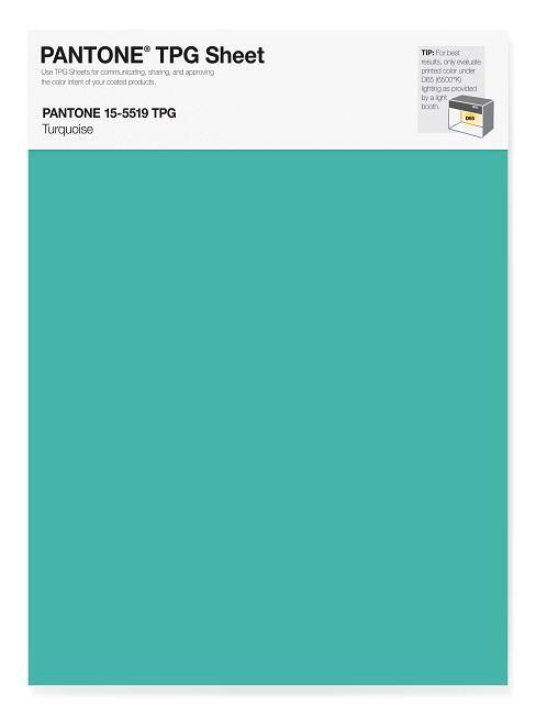 Pantone Trendfarben Turquoise