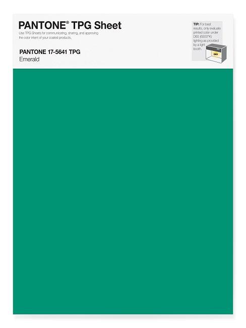 Pantone Trendfarben Emerald