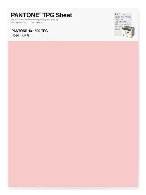 Pantone Trendfarben Rose Quartz