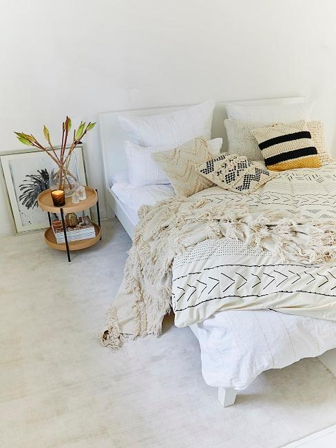 Schlafzimmer im Ethno Stil