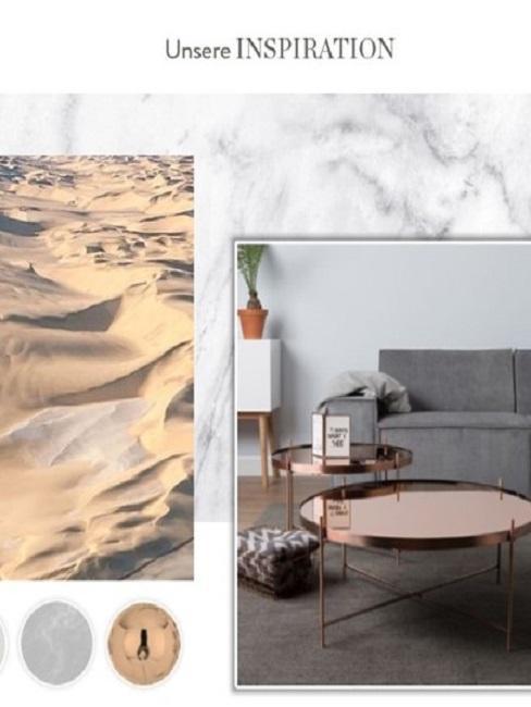 Wohnzimmer einrichten Moodboard Inspiration