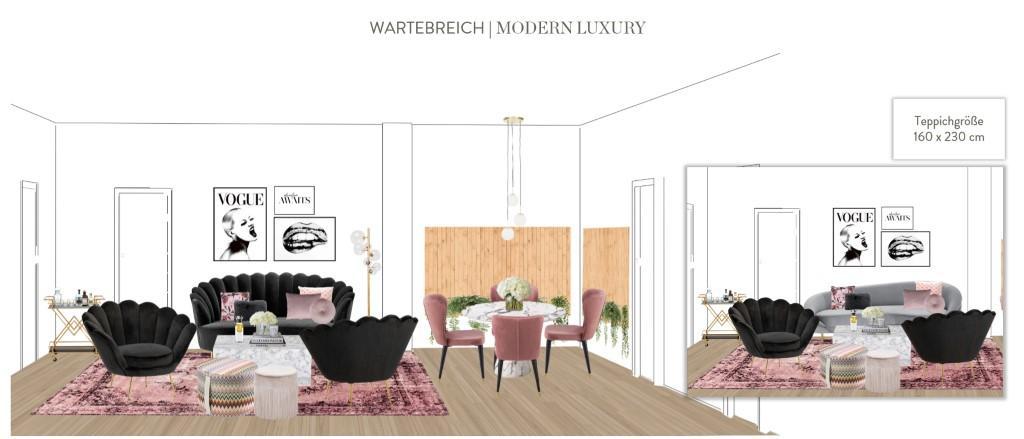 Büro einrichten Modern Luxury Wartebereich