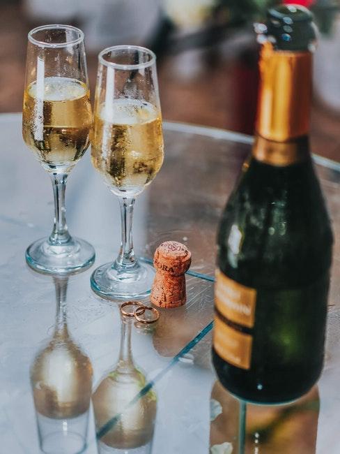 menu matrimonio vino