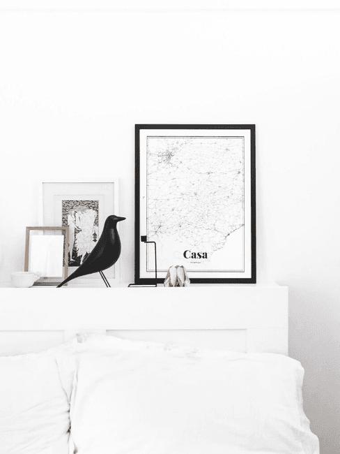 Dettaglio camera da letto Unprogetto