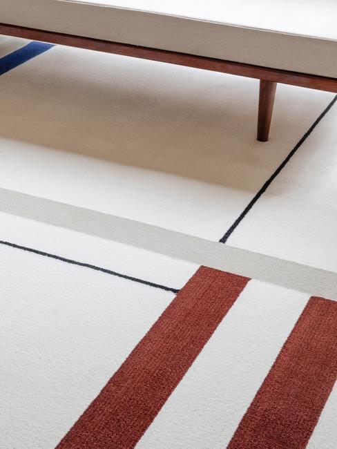 Dywanw kolorach Bauhaus