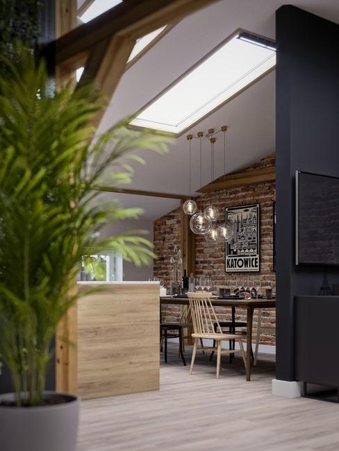 Zdjęcie z bloga design your home: mieszkanie na poddaszu