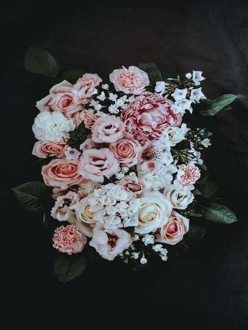Kwiaty w stylu vintage
