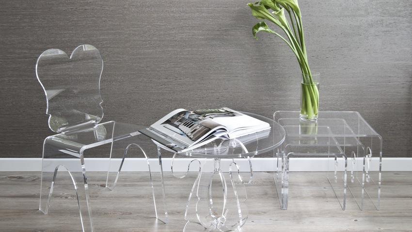 Krzesła przezroczyste: lekki i modny design | WESTWING