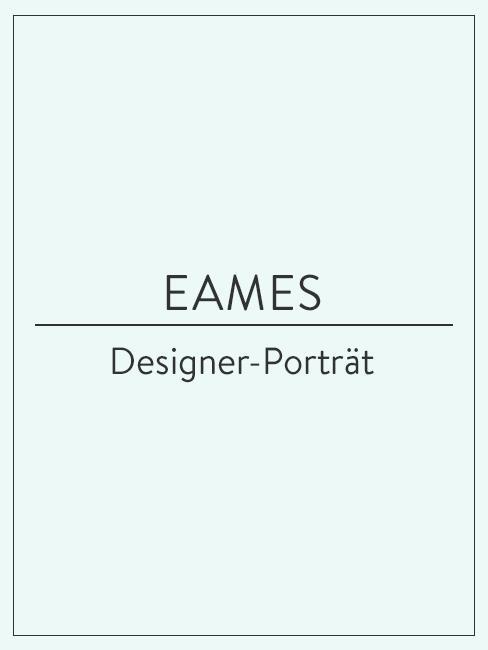 Designer-Porträt über Ray und Charles Eames