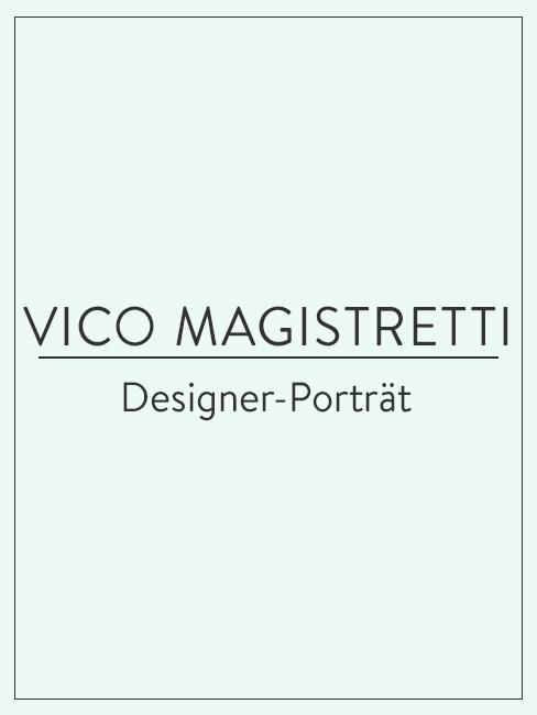 Designer-Porträt über Vico Magistretti
