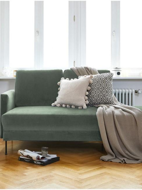 cama de dia verde