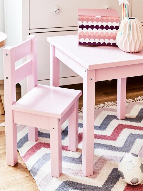 Cameretta in rosa