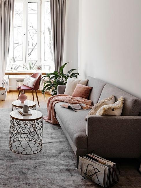 Wohnbereich in 1-Zimmer-Wohnung