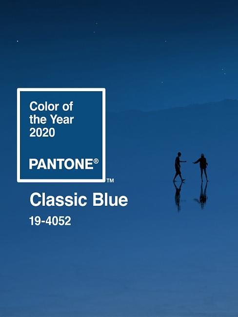 Pantone Classic Blue - Farbe des Jahres 2020