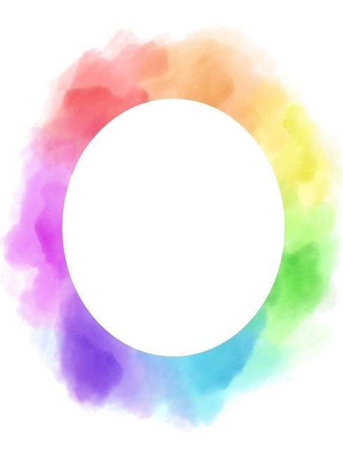 Farbkreis mit allen Farben
