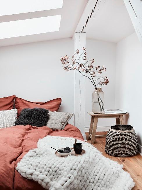 Asiatische Deko in Schlafzimmer