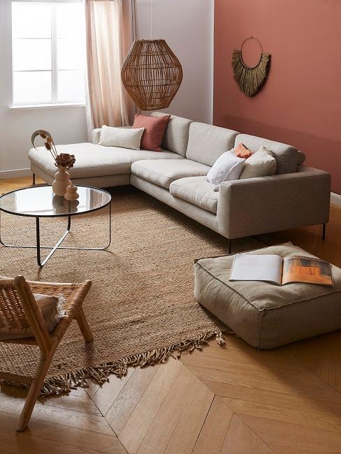 Sisal Teppich im Wohnzimmer