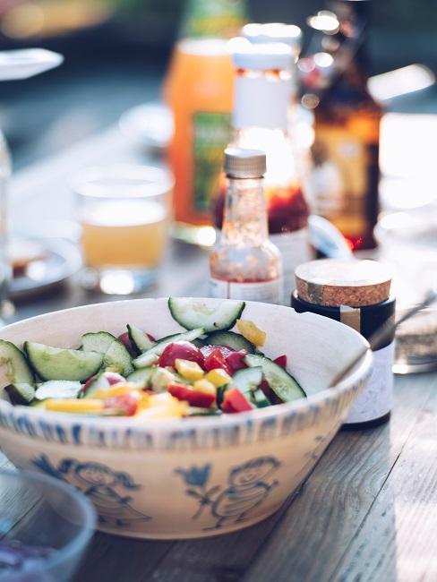 Outdoor Küche Essen Tisch