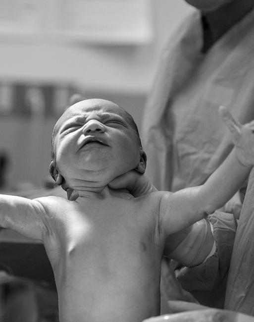 Getaufter Junge