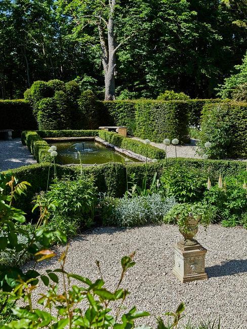 Wallerstein Gardens Teich