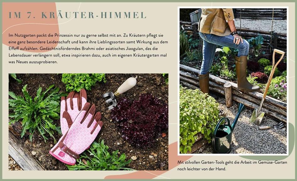 Wallerstein Gardens Informationen Kräutergarten
