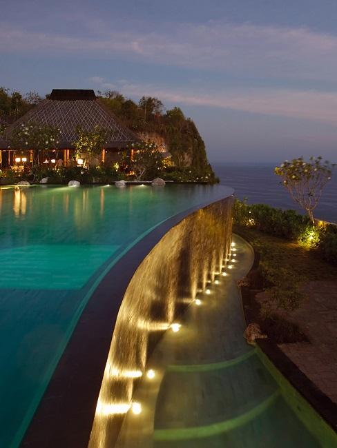 Bulgari Hotel Bali Infinity Pool Aussicht
