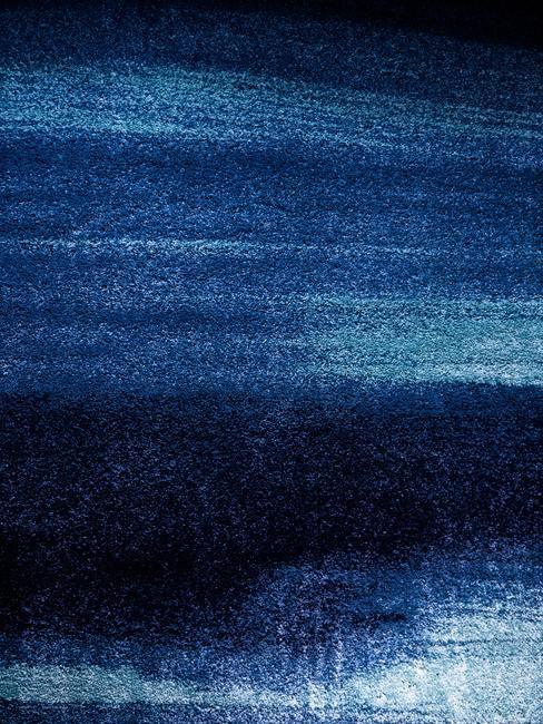 Moqueta azul oscuro