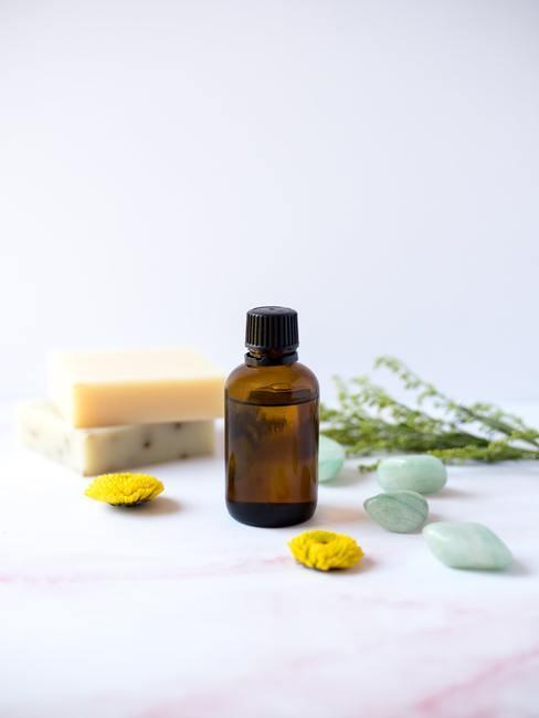Flacon huile essentielle