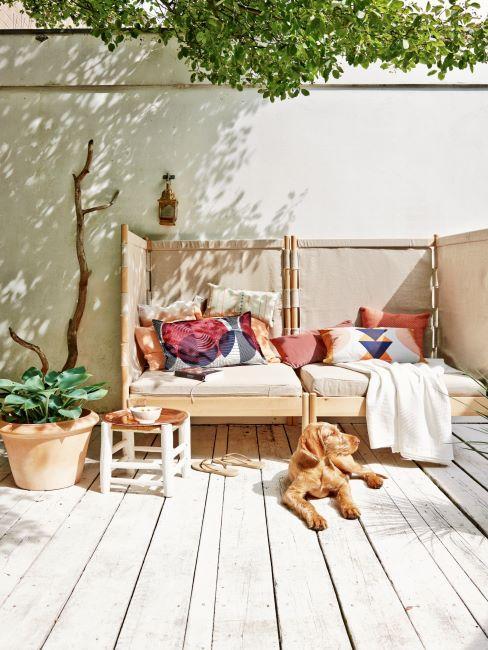 sol de terrasse en bois