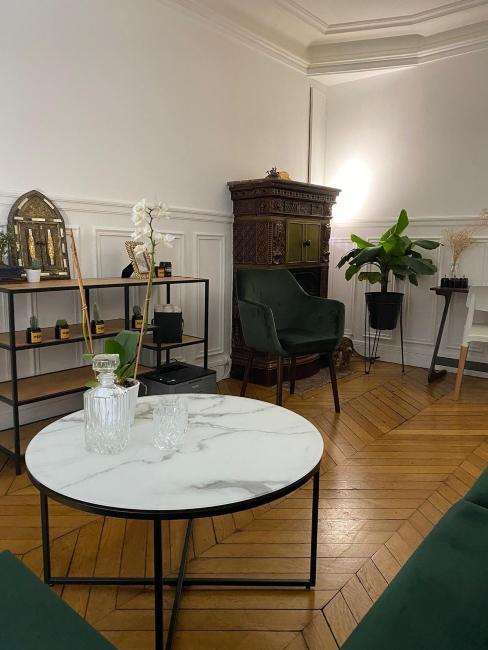 Vue du salon de Leopask