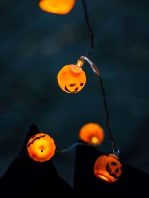 decorazioni halloween ghirlanda luminosa