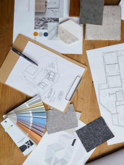 progettare casa disegno e colori