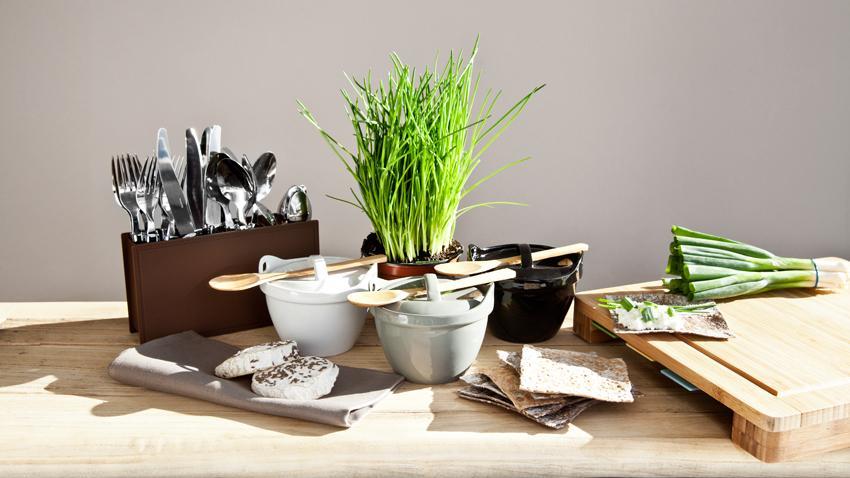 Bambusový příbor