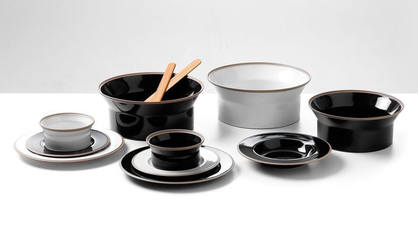 Černé talíře