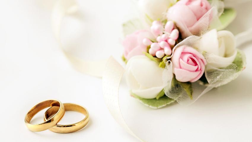 Caja para anillos de boda