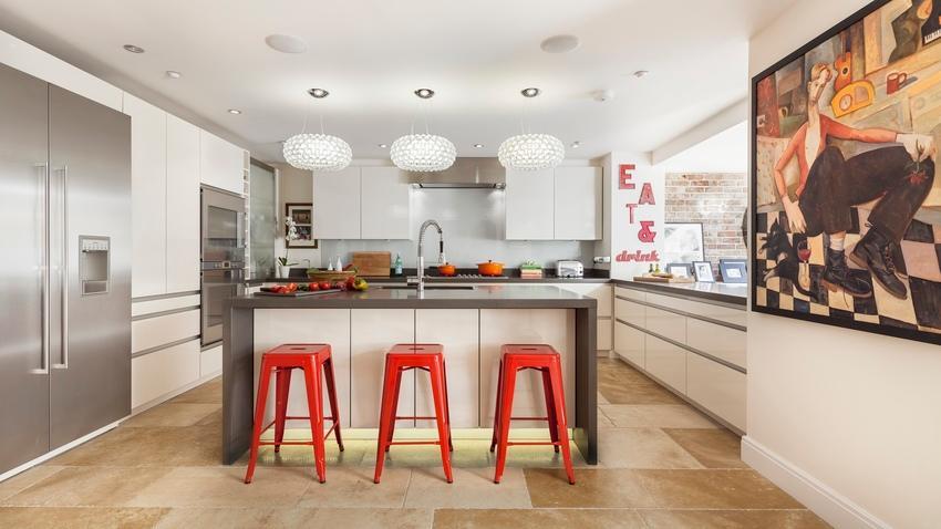 Suelos para cocinas, resistentes y estilosos