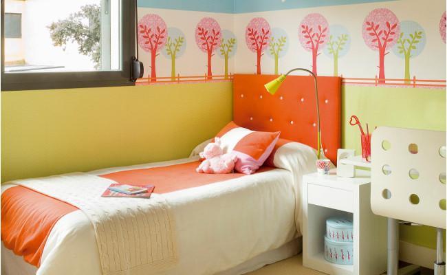 Pokój dziecięcy w radosnych kolorach