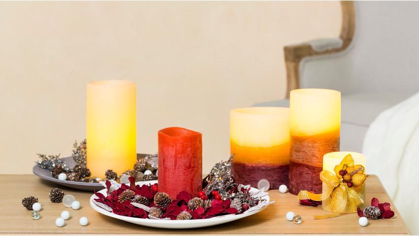 Czerwone świece