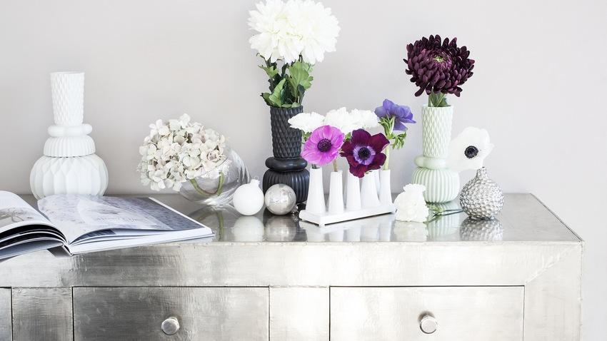 Biela váza