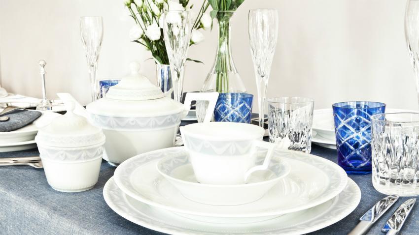 Porcelánové taniere