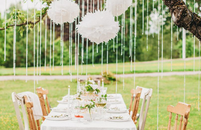 Garden party v pěti stylech